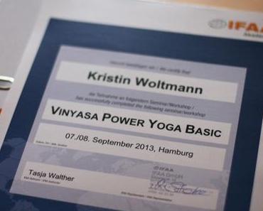 Der erste Baustein der Vinyasa Power Yoga Ausbildung
