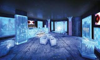 Norwegian Cruise Line präsentiert Miamis coolste Bar: Eisbar der Norwegian Getaway glänzt mit Art Déco-Elementen in Eis und von Florida inspirierten Cocktails