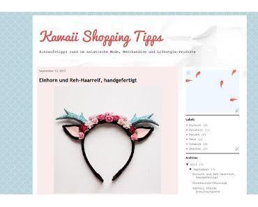 NEWS: Kawaii Shopping Tipps - Neuer Blog mit vielen Einkaufstipps