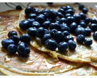 Dinkel-Pfannkuchen (vegan)