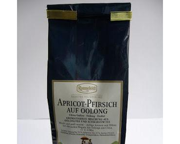 "Tee des Tages | Tea of the Day | ""Ronnefeldt Apricot-Pfirsisch"" auf Oolong"