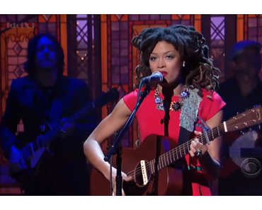 Valerie June's Late Night Debut in der Late Show with David Letterman