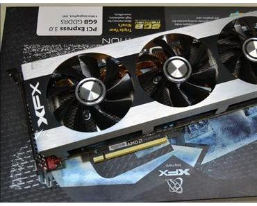 XFX Radeon HD 7990 Triple Dissipation – Karte mit zwei Tahiti-XT-GPUs und Custom-Design erschienen