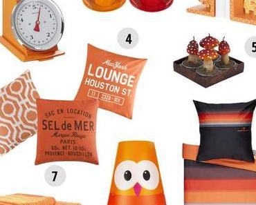 autumn edition #2 - orange home accessoires