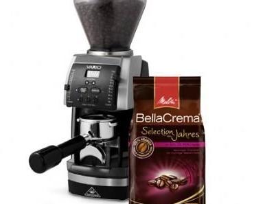 Verlosung! Gewinne einen Jahresvorrat Melitta-Kaffee & eine VARIO-Kaffeemühle von Mahlkönig