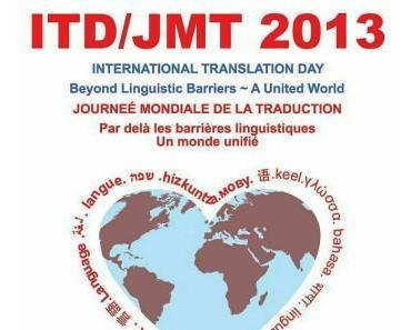 Internationaler Tag des Übersetzens