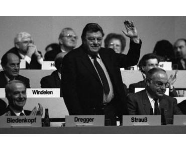3. Okt. 1988: Franz Josef Strauß (†)