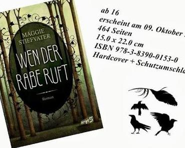 (Letters for Books / Rezension) Wen der Rabe ruft von Maggie Stiefvater