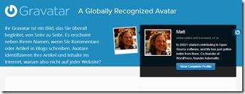 WordPress: Profilbild ändern