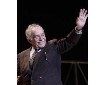 Der kolumbianische Schriftsteller Gabriel García Márquez