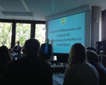 Rückblick: Orientierungswoche Medienwissenschaften Uni Paderborn