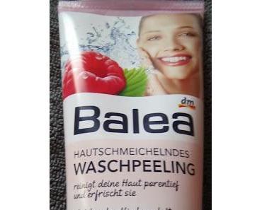 Review: Hautschmeichelndes Waschpeeling von Balea