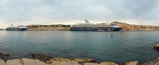 Pressemeldung: Malta begrüßte die Mein Schiff Schwestern – Treffen der Wohlfühlflotte im Heimathafen Valletta