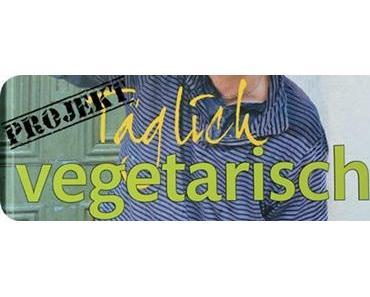 Salat mit Gemüse und Tahini-Dressing