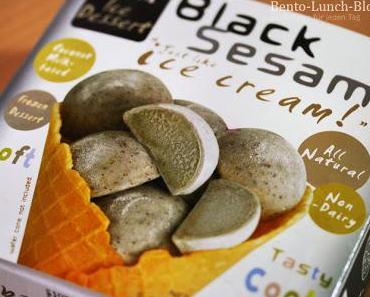 Schwarzer Sesam Mochi Eis