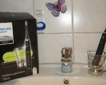 Meine erste Schallzahnbürste von Philips – Sonicare Diamond Clean Black