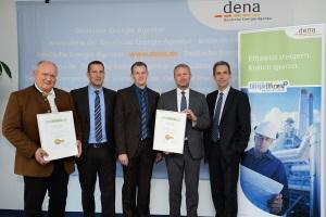 Neue Auszeichnung der dena für Energieeffizienz in Unternehmen