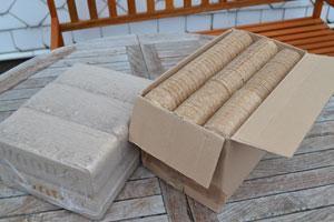 Testbericht – biobric Holzbriketts