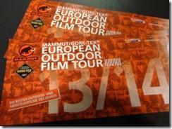 E.O.F.T. European Outdoor Filmtour 2013