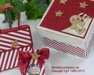 Verpackungen für die Weihnachtszeit