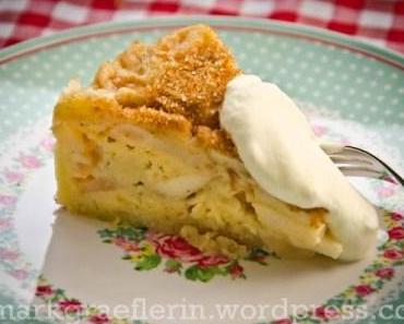 Mini-Apfelkuchen mit Buttermilch