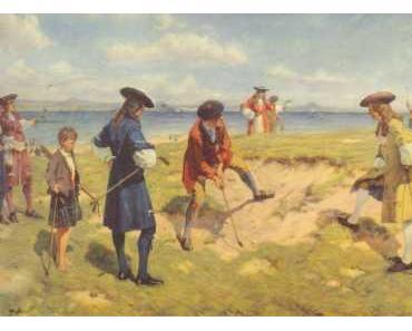 Alte Golfbilder – eine kleine Sammlung