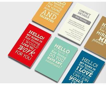 visitenkarten für blogger - ein no-go oder unverzichtbar?