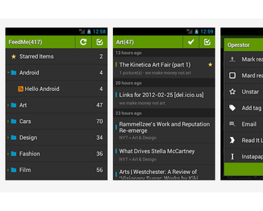 FeedMe: Interessanter Feedreader für Android