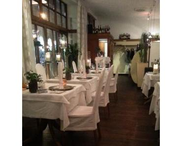 romantisch vegan Abendessen im Restaurant Lebenbauer