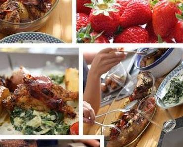 Hähnchen & Tomaten aus dem Ofen alla Jamie Oliver 30 Minuten Kochbuch