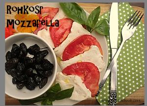Veganer Rohkost Mozzarella