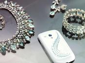 Samsung Galaxy Mini Crystal Edition Swarovski Kristallen