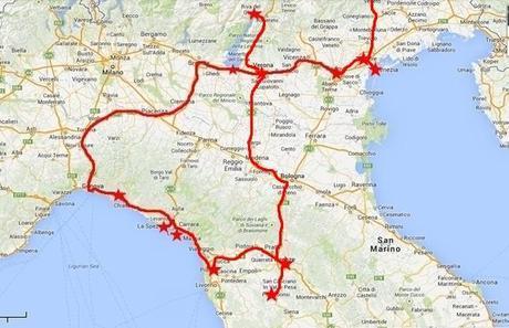 {UNTERWEGS IN} Nord-Italien