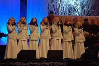 Die Krönung der Lucia in Göteborg