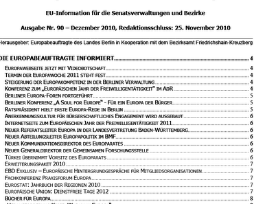 """EU-Geschwurbel: """"Europa in Berlin in Europa"""""""
