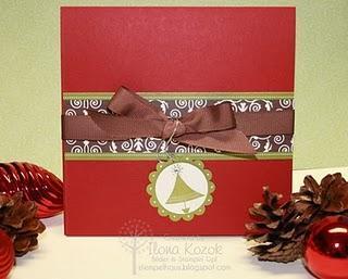 23.Dezember...........ein Mini Album für die Weihnachtsfotos