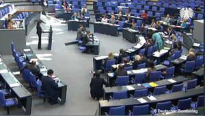 Monatelanges fehlen im Bundestag