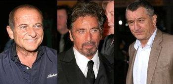 Mafia Film mit De Niro, Pacino und Pesci