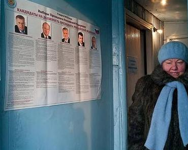 Das deutsche Bild der Wahlen in Rußland