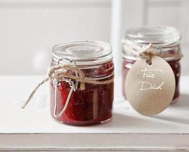 Himbeeren Marmelade & Weihnachtsgeschenk
