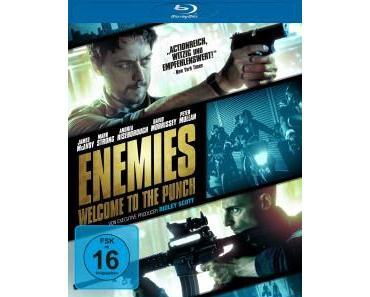 Filmkritik 'Enemies – Welcome to the Punch' (Blu-ray)