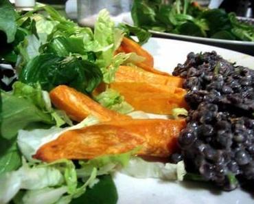 Vegetarisches Herbstmenü für die Kochgruppe