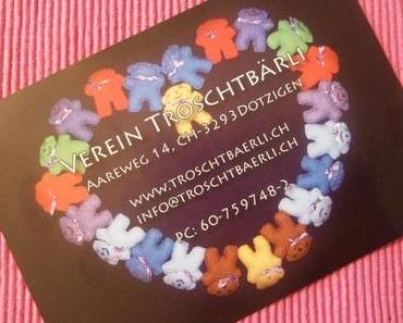 November-Spendenaktion: Das Projekt Troschtbärli spendet Kindern Trost
