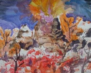 Gianni Farinetti / Alex Cecchetti: L'ombra del vulcano.