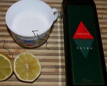 Geschenkemarathon #2 Zitronen-Handpeeling