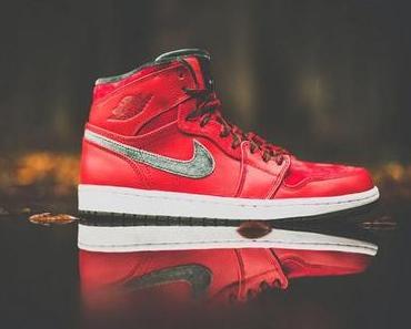 Nike Air Jordan 1 High Premier Varsity Rot - Army Grün
