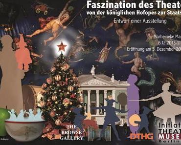 Berlinspiriert Kunst: Alles Theater – Ausstellung und Post für den Weihnachtsmann