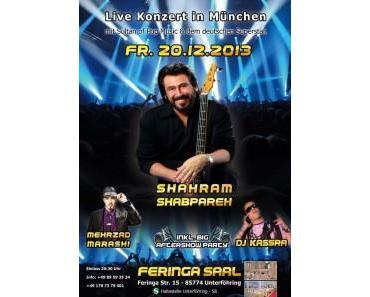 Mit Shahram Shabpareh, DJ Kassra und Mehrzad Marashi die Nacht der Geburt feiern