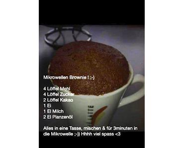 Mikrowellen Brownie