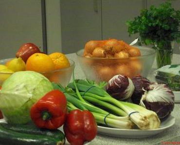 """Nachkochgerichte aus dem Kochkurs """"Mediterrane vegetarische Festtagsgerichte"""""""